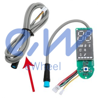cable alimentación controladora encendido patinete xiaomi