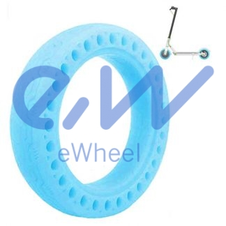 rueda maciza fluorescente patinete xiaomi