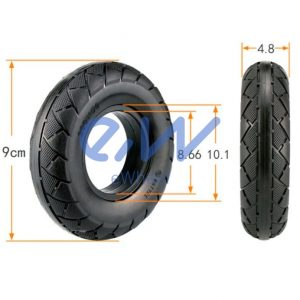 rueda maciza 200x50 patinete electrico
