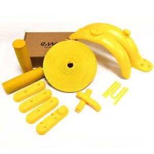 personalizar-xiaomi-m365-pro-amarillo