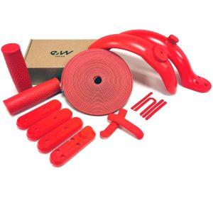 personalizar-xiaomi-m365-pro-rojo