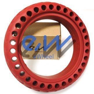 rueda maciza xiaomi m365 pro rojo