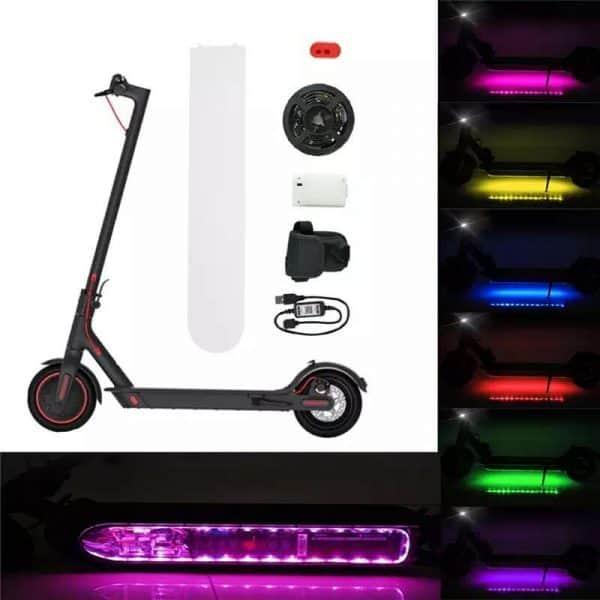 luz led patinete electrico