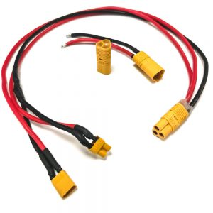 Cable para instalación de batería externa conmutada.
